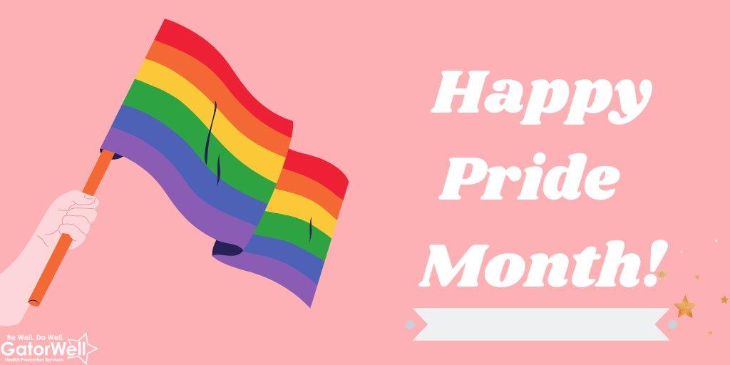🌈LOVE IS LOVE! Happy Pride Month, Gators!