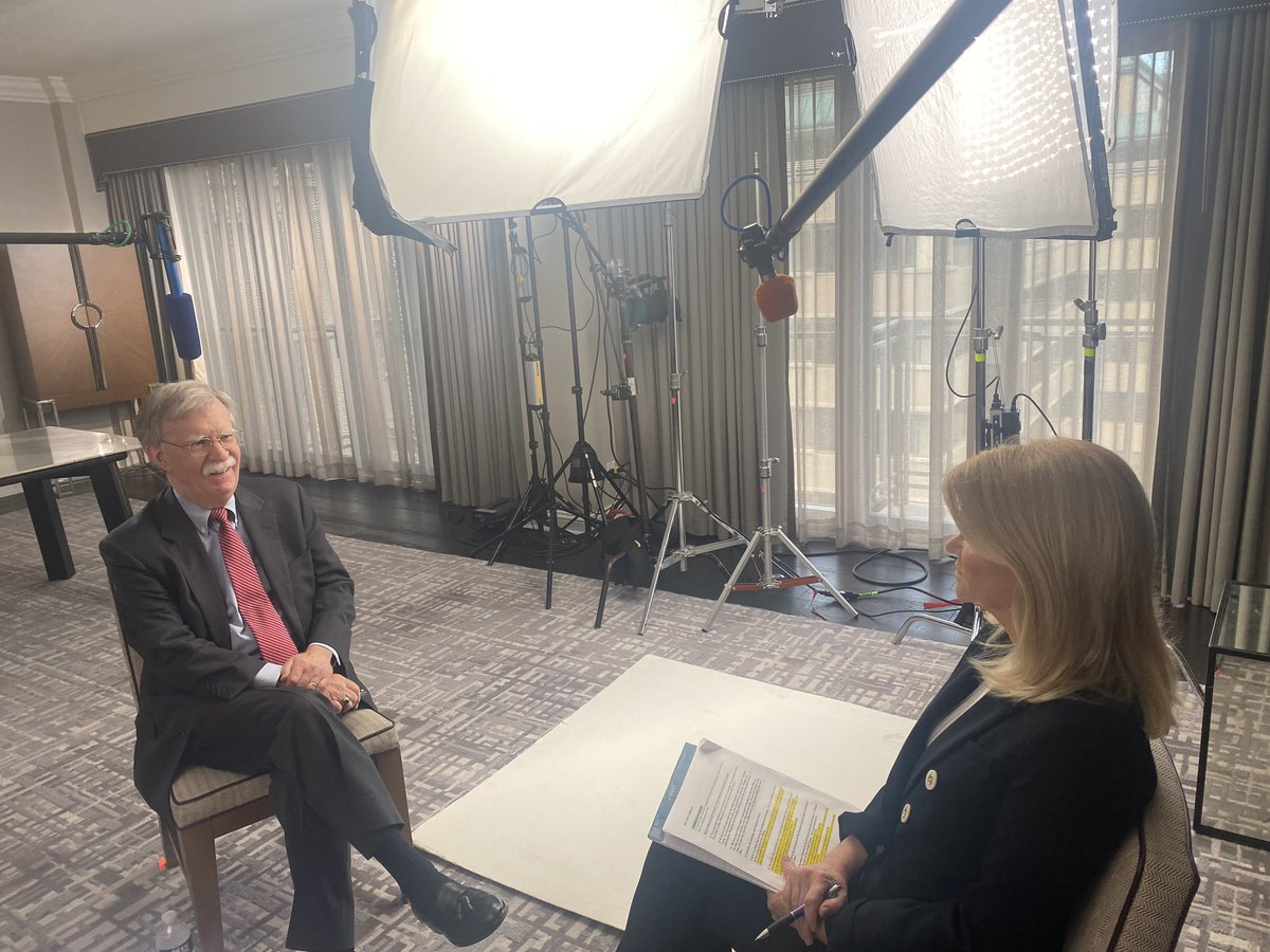 He's the man the president doesn't want you to hear.  I just sat down with John Bolton, Pres. Trump's former trusted adviser, for an exclusive one-on-one interview—with no question off limits.  Watch the special event Sunday at 9/8c on ABC. https://t.co/VAdtK30f3Z