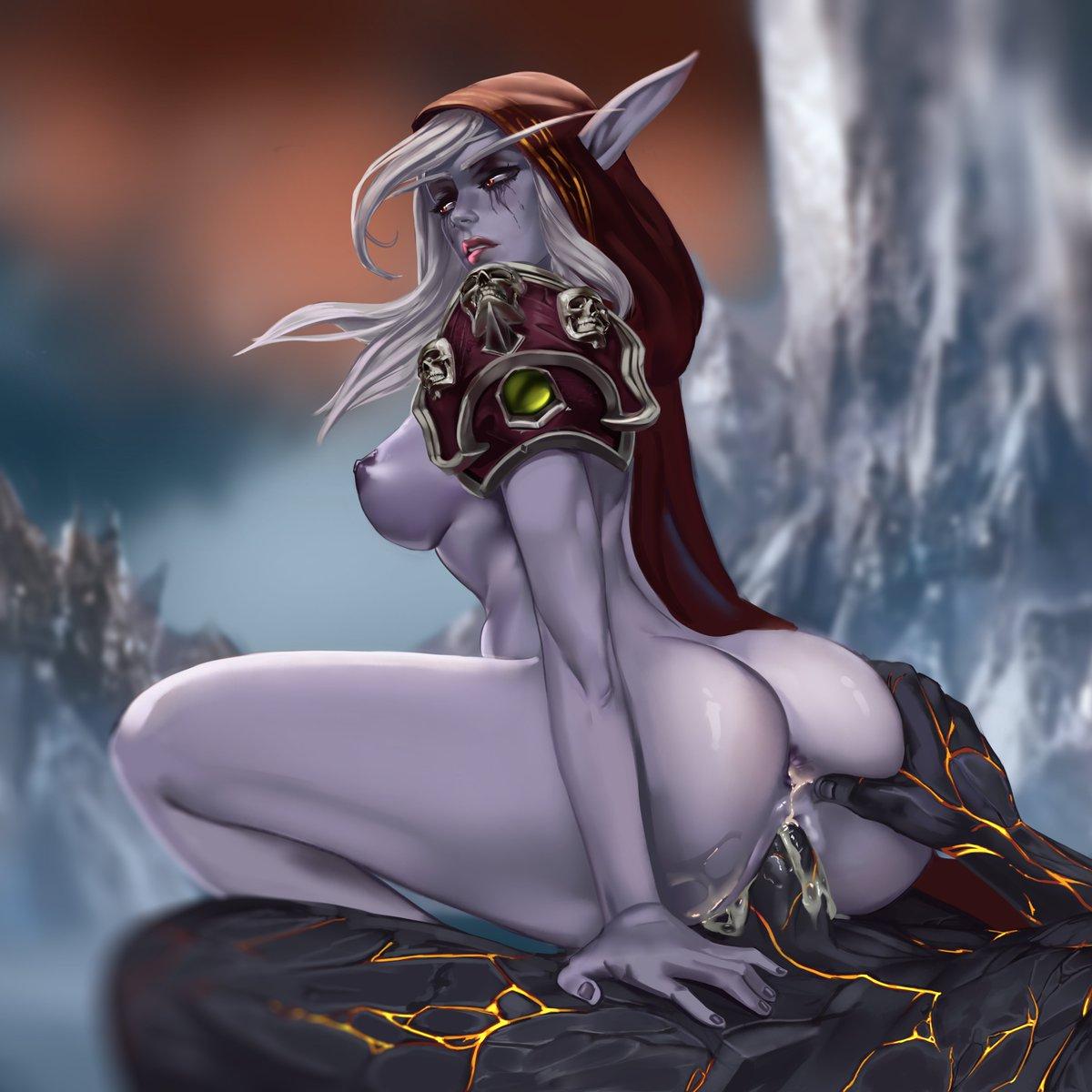 Sylvanas windrunner, the queen of the forsaken