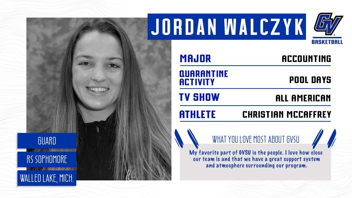 This week's Player Profile: Redshirt Sophomore Jordan Walczyk  #AnchorUp 🏀 https://t.co/TBi7RqcrZc