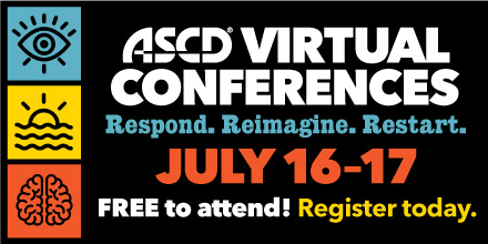 This July, join us for the ASCD Virtual Conference: Respond. Reimagine. Restart.  This event will bring together practitioners and thought leaders to share their insights and strategies to help you plan for the 2020–2021 school year: https://t.co/8cxN2zsiOZ @ASCDconf https://t.co/yRBVYlGyPk