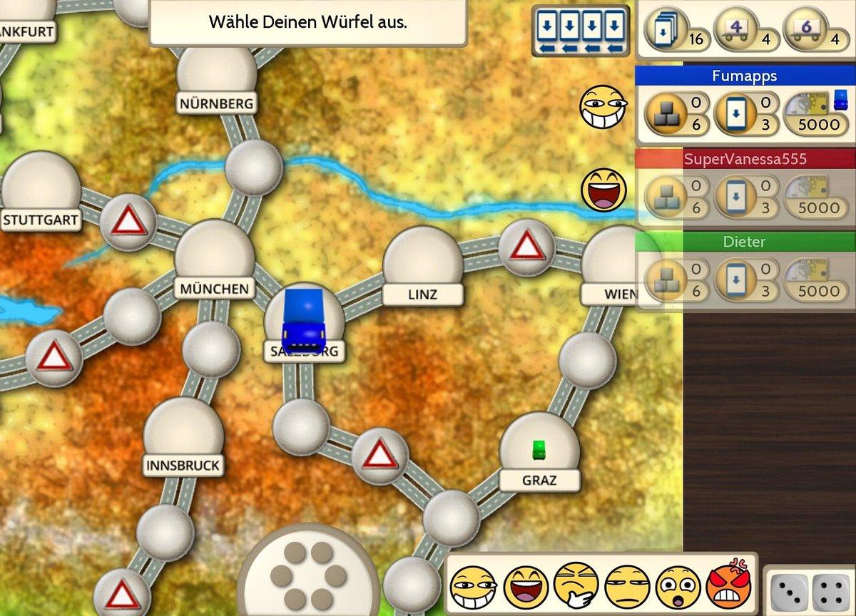 Teste den neuen Mehrspielermodus der Auf Achse Brettspiel App und zeigt den anderen, wer der beste Brummi Fahrer ist!  (zu finden im Google Play Store)  #aufachsebrettspiel #spieleabend #brettspiel #aufachse pic.twitter.com/qGrrcnuML4