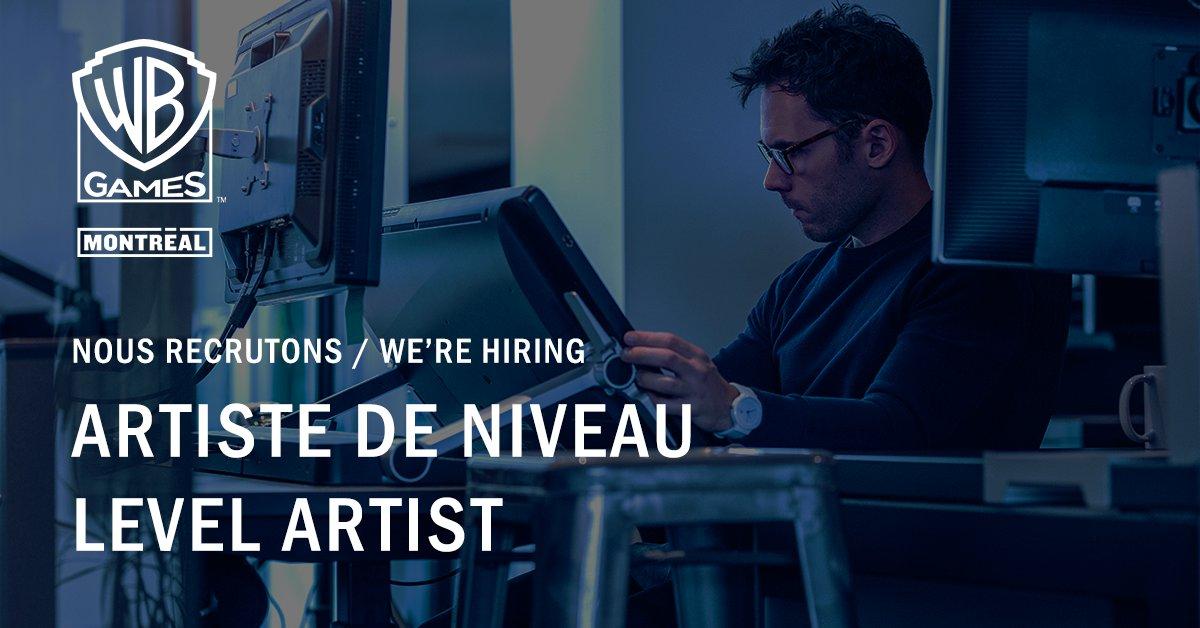 Hot job de la semaine : Artiste de Niveau 🔥  Rejoignez-nous ! : https://t.co/Ilo81MJeJ2   💼  Weekly Hot Job : Level Artist 🔥  Join us! : https://t.co/Ilo81MJeJ2 https://t.co/sWDHjTiHHW