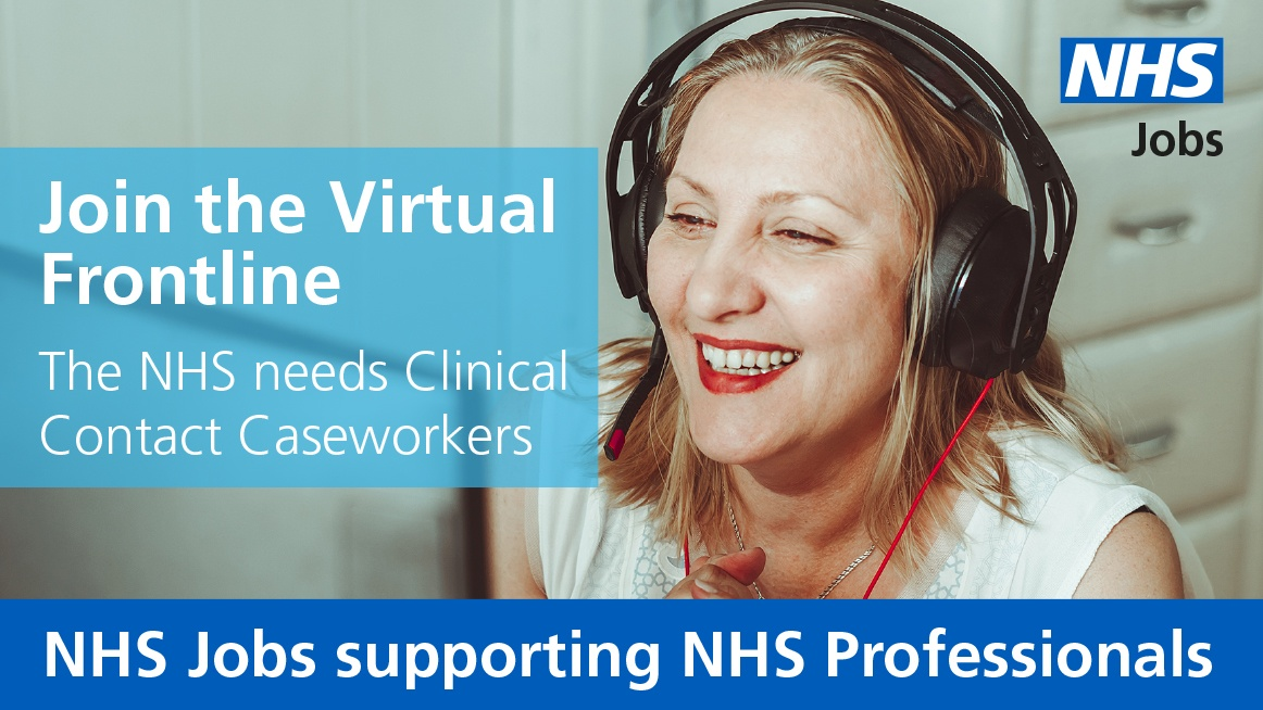 Clinicians at Band 6 or above: Could you support our NHS in the #coronavirus fight from your own home? Use your clinical expertise by joining the Virtual Frontline as part of the Contact Tracing Service. Find out more here: orlo.uk/grLHS