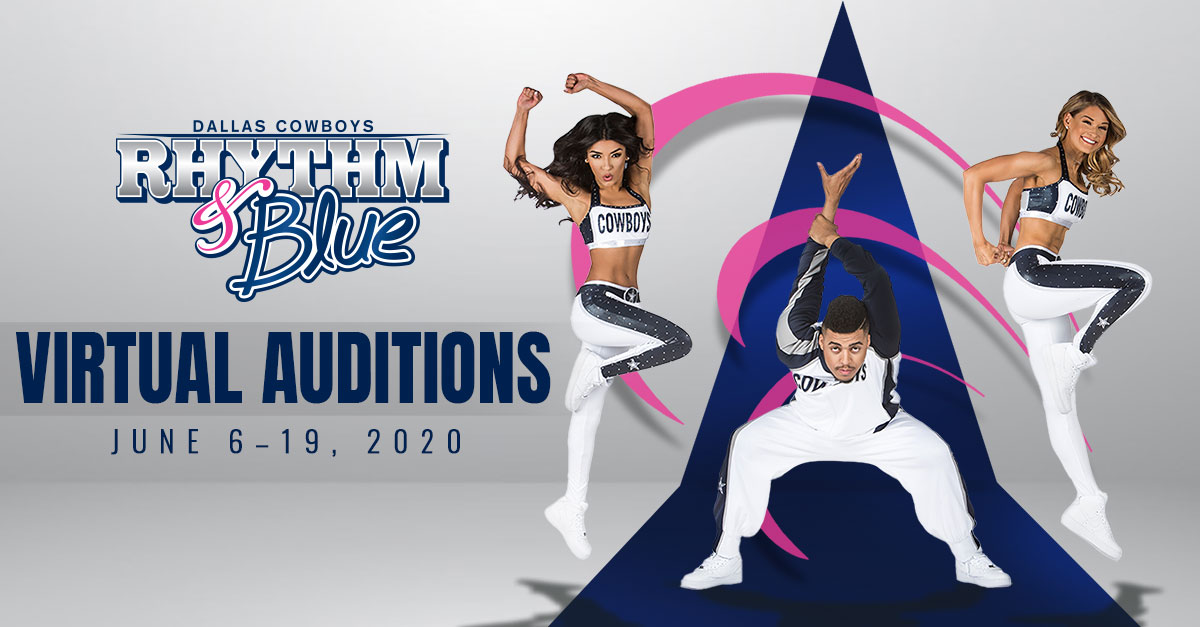 Want to be a@DCRhythmBlueDancer?  💫 For the first time EVER, auditions for the only professional co-ed hip hop dance crew in the NFL will be held ONLINE.  Submit your auditions here →https://t.co/g7sz3516Le https://t.co/wgVBcgleBv