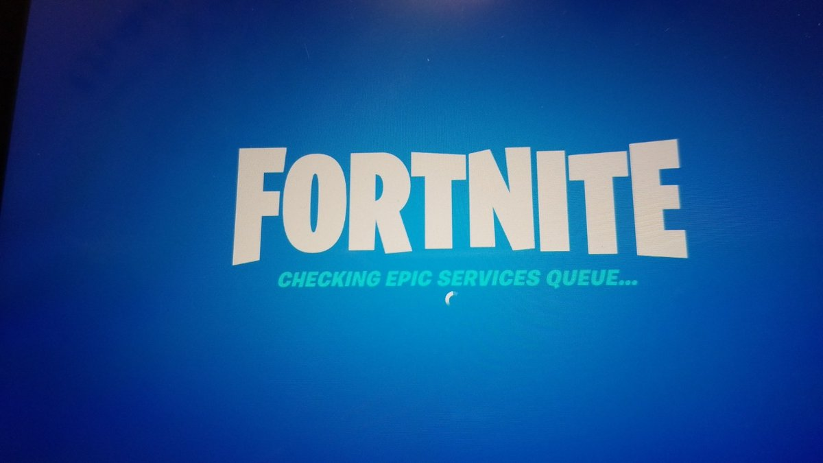 RT @Jayden29265486: They said thirty minutes in advanced but its already broken #fortniteevent https://t.co/xGW4L3vyBw