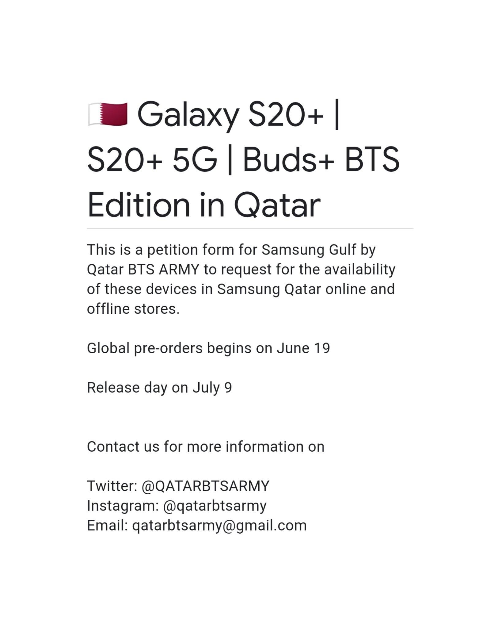 ᴮᴱ BTS Qatar on Twitter
