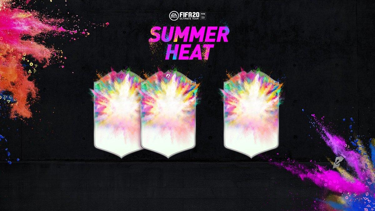 500k Summer Heat Giveaway 🏆🔥   To enter:   Retweet ✅   Follow @FUT20News ✅  Follow @TheCrazyTrad3r  Follow @FUTCoinSniper   Winner will be drawn June 17th! 🍀 https://t.co/b08D9Xyhep