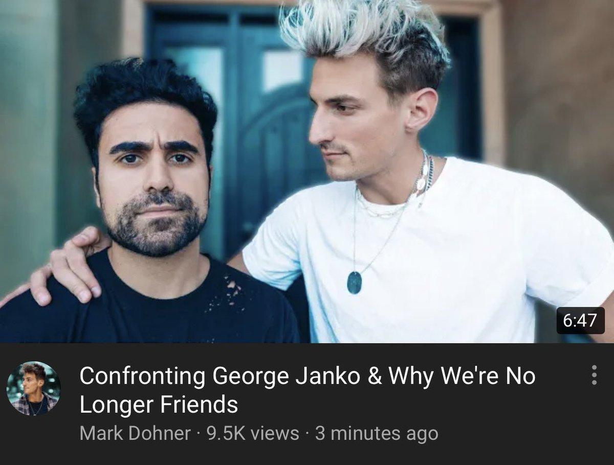 confronted George. go watch youtu.be/Flw5uV0WN2I