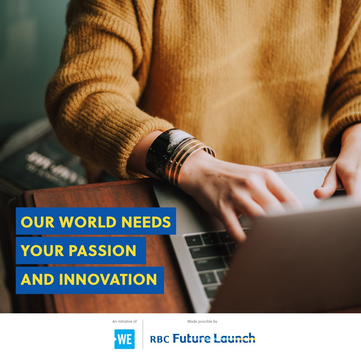 Bring your social good ideas to life and develop your skills with WE Are Social Entrepreneurs, powered by @RBC Future Launch. Don't miss this free, inspiring workshop! Register now: https://t.co/hqO5AyU2jX https://t.co/A8zTMwk3h8