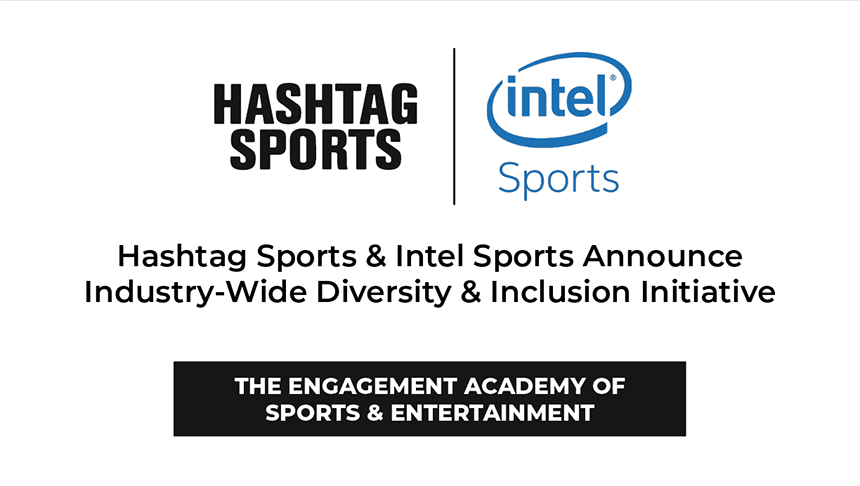 In partnership with @Intel Sports, we are excited to announce The Engagement Academy of Sports & Entertainment's industry-wide Diversity & Inclusion initiative. We recognize the work ahead of us. 👉 https://t.co/MzTUg0p8e6 https://t.co/ddkElHnWt9
