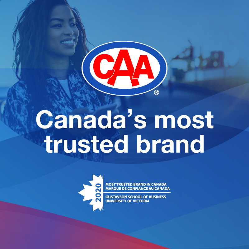 It's official! CAA has been named the most trusted brand in Canada by @GustavsonUVic #brandtrust  https://t.co/87XhQotkdH https://t.co/p3LrvkXxPk