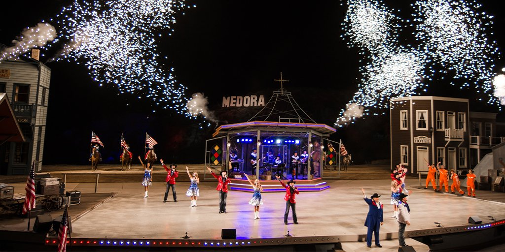 It is finally here! The Medora Musical opens THIS FRIDAY. Click here to buy your tickets to the greatest show in the west! #BeNDLegendary https://t.co/GZcZ8opOJ1   📷: Brian Heskin https://t.co/YkkeIhlegX