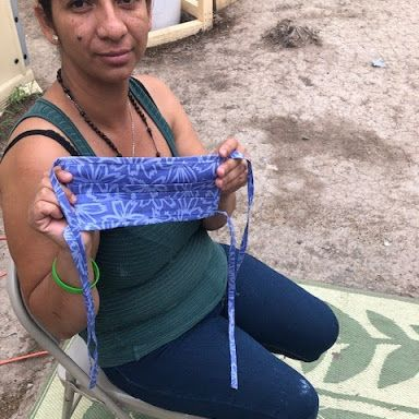 #Asylumseekers in our #Matamoros encampment are especially vulnerable to the spread of #COVID19. Masks can help reduce the impact, and your help is needed!  Learn how you can make and donate masks here: https://t.co/mLlnCGn0Sa  #MaskMonday https://t.co/kIME1xzNEl