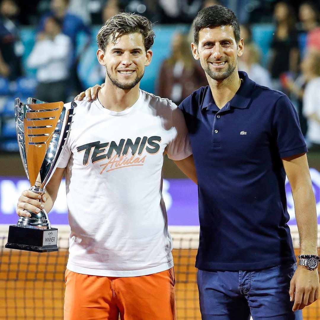 Novak Djokovic On Twitter And Djordje Especially For Organizing Such A Successful Event The Energy Here Was Unreal I M Still Floating From The Amount Of Fun And Support We Ve Had Adriatennistour It
