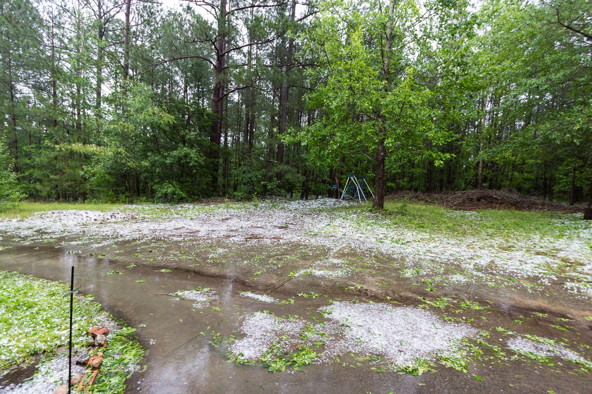 @ChrisHolcomb Hailstorm south of Loganville.