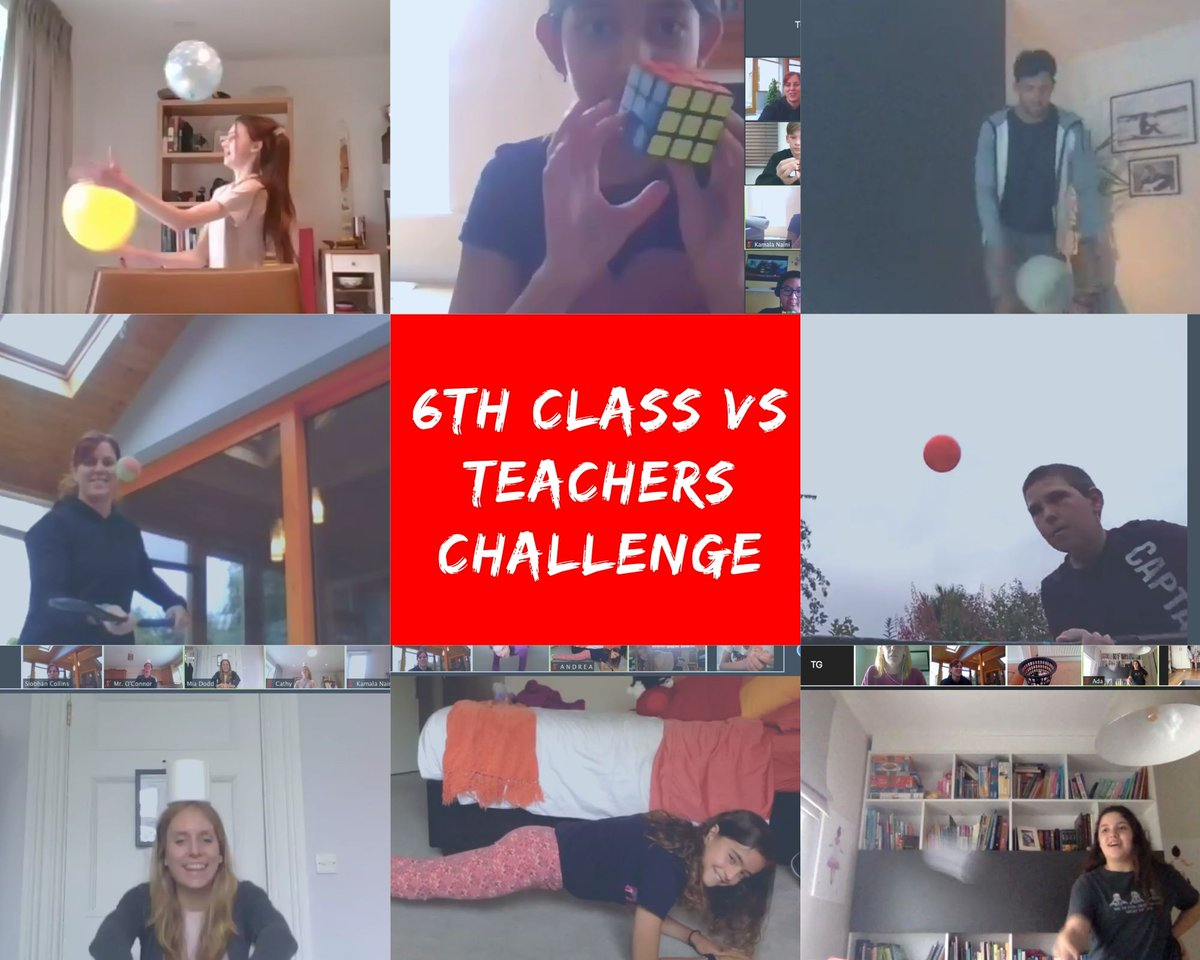 test Twitter Media - 6th CLASS VS TEACHERS CHALLENGE 2020 - Well done to the pupils who won against their teachers in various activities last week. It was a very competitive Zoom session! @mrsbowen123 @SiobhanCollin28 @annetteblack6 https://t.co/QQirixiNcC