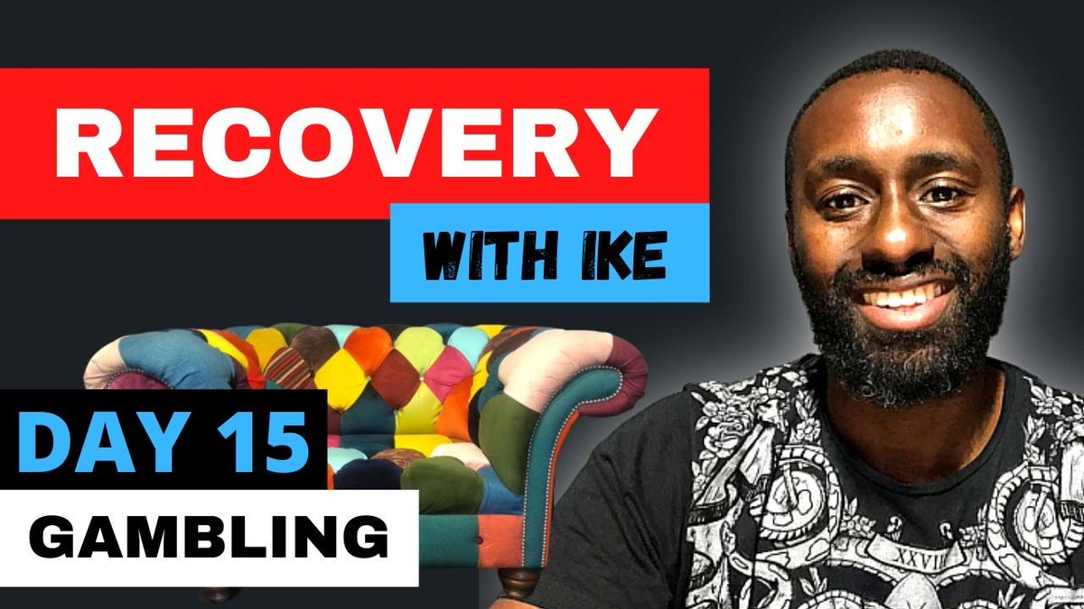 Day 15 - Gambling #RecoveryWithIke  #ChildOfGod #ChildOfGodTeam #ChildOfGodMovement #Recovery #Drugs #Alcohol #Gambling #Welcome #ThankYou #Blessed #Grateful #GodBless #GodsWill #Addiction #MyStory #MyJourney #Support  https://t.co/3ZXSOlN66m https://t.co/X7DfyQFVHG
