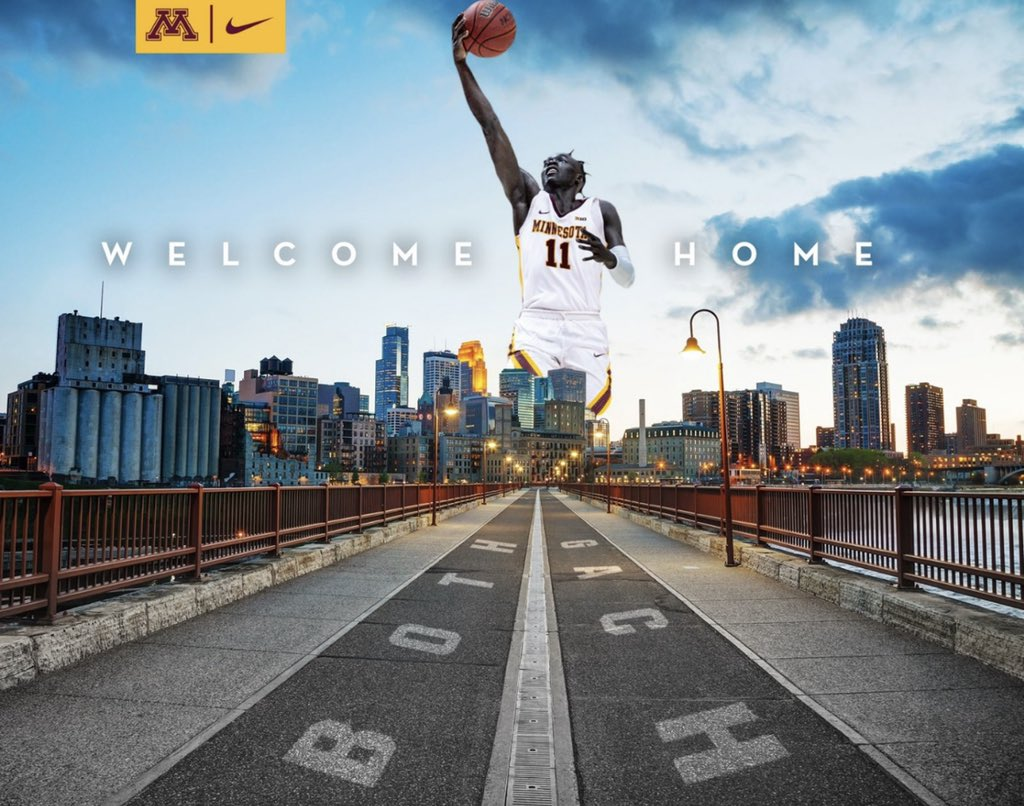 I would love to give a huge Thank you to all the schools that took the time to recruit me but at this time I'm excited to commit to the University of Minnesota and join coach Pitino and  his staff ..... Excited to be back home 〽️ 🙏🏿 https://t.co/NeIeN2AtQB