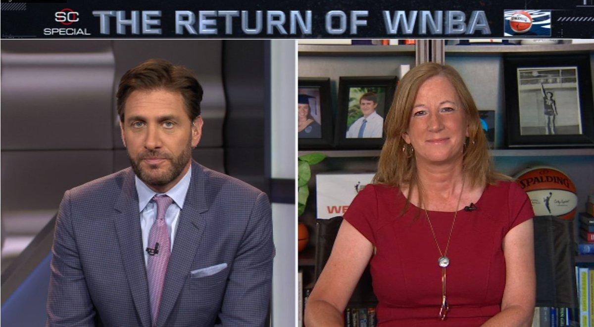 "WNBA on Twitter: ""WNBA Commissioner @CathyEngelbert joins ..."