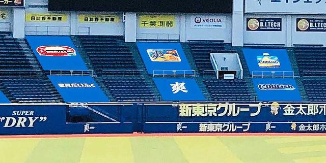 千葉ロッテマリーンズ、無観客試合限定でレフトスタンドにHRターゲットを設置!