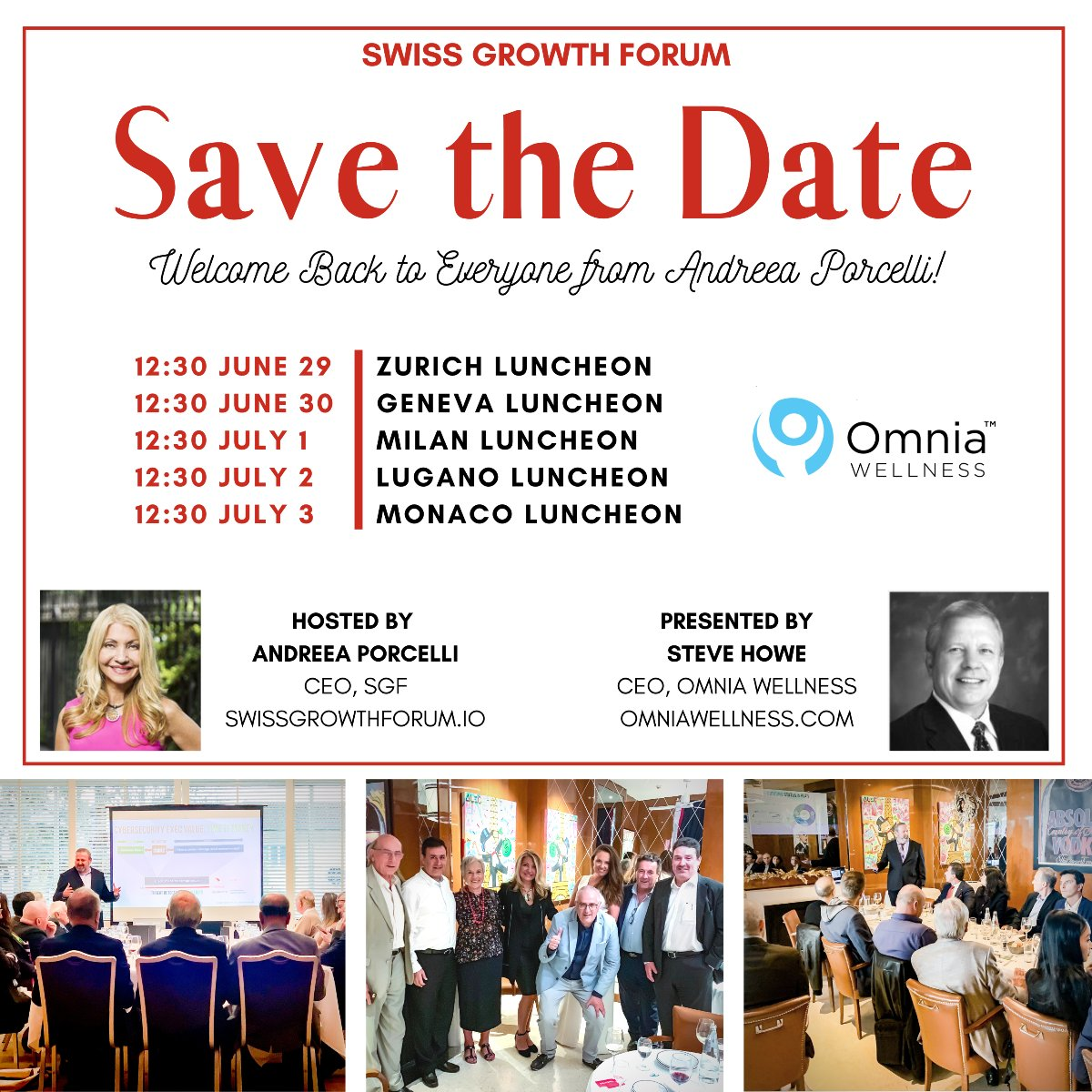 Andreea Porcelli Welcomes you Back to the SGF Roadshow for Omnia Wellness June 29th through July 2nd!  https://t.co/9nrVuqKPxd  #NewYork #Covid_19 #QuarantineLife #business #lockdown #updates #cybersecurity #investing #stocks  #coronavirus #nasdaq #GRAMMYs #DDoS #Nintendo https://t.co/3Avwt5NkYj
