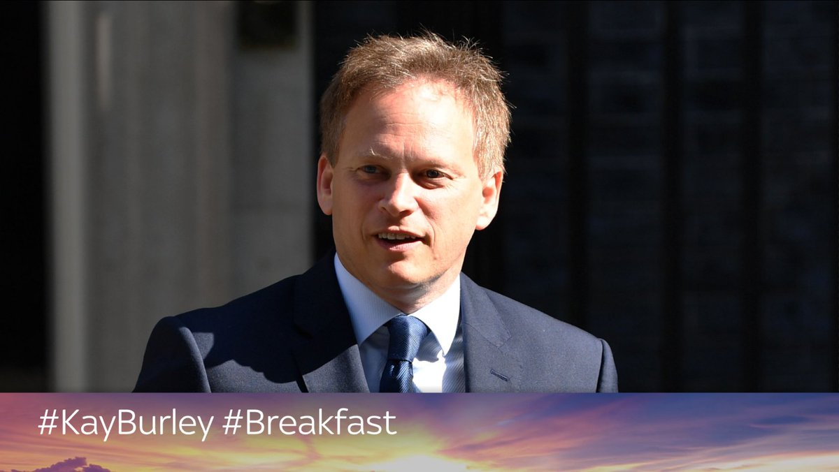Transport Secretary Grant Shapps joins #KayBurley to discuss new 'green flash' number plates for zero-emission cars to show they are eligible to by-pass congestion charges and secure cheaper parking  🕖 7.05 📺 Sky Channel 501 / Freeview 233 📱 Watch live: https://t.co/jCgTS4TrFX https://t.co/4r6Rtw43CA