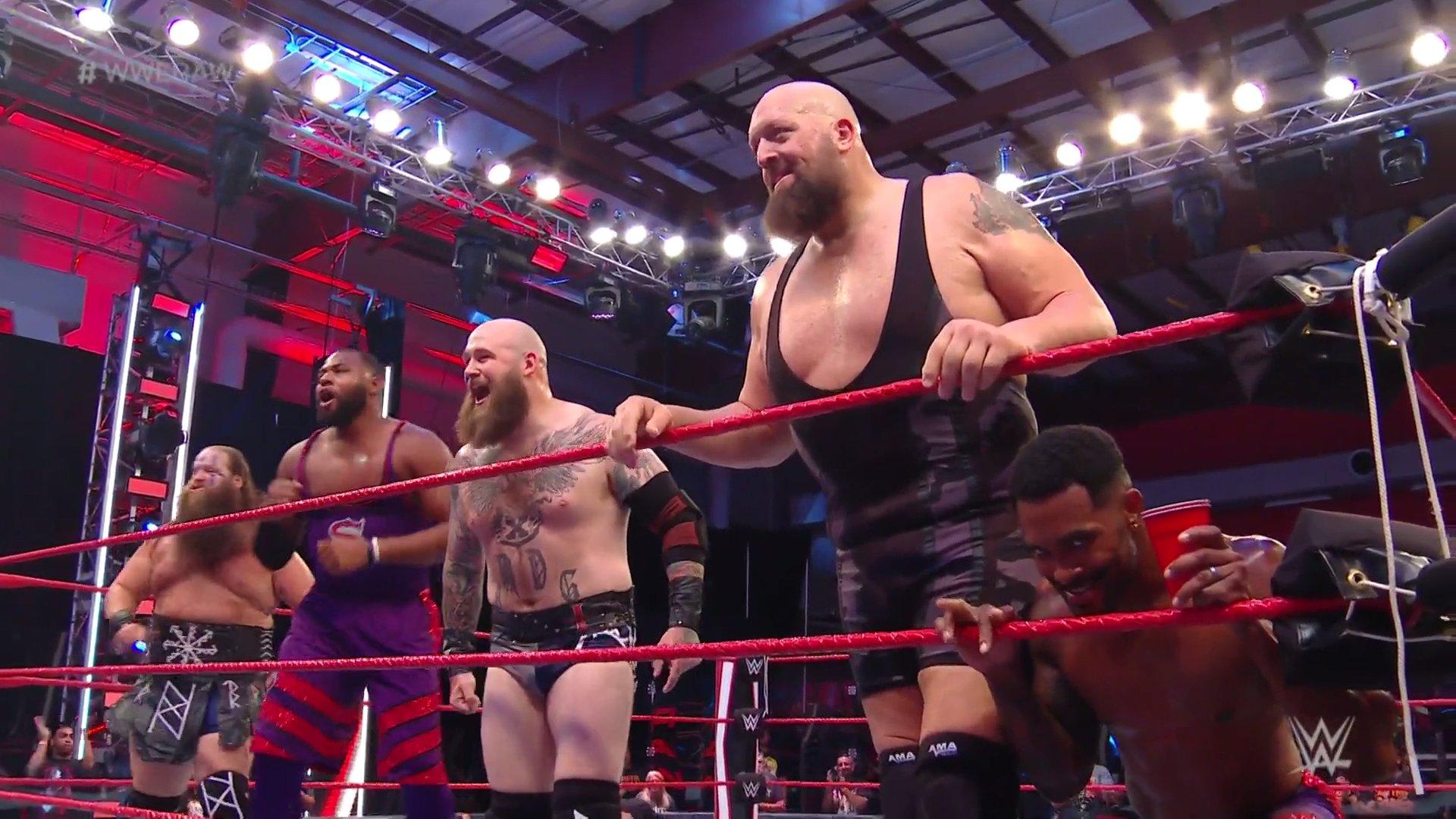 Big Show faz o seu retorno ao RAW