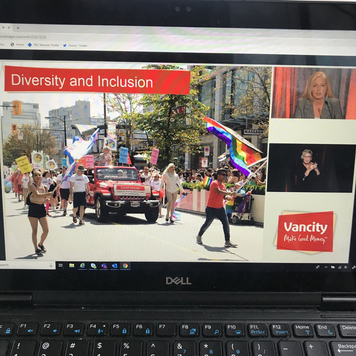 When the CEO of your financial institution reports on #payequity  and #inclusion. @Vancity https://t.co/amm0IPiGHk
