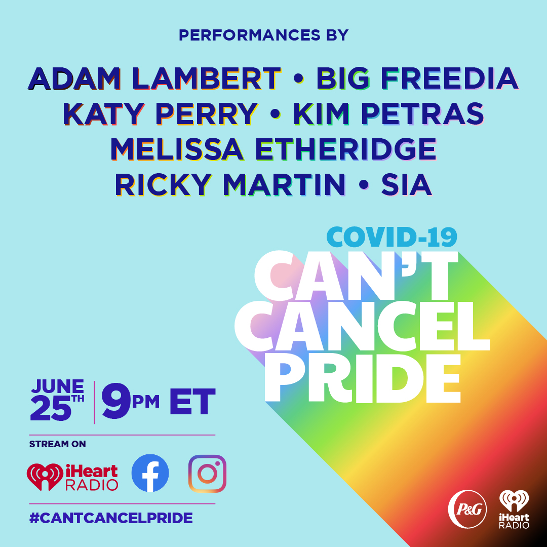 """Can't Cancel The Pride"", iHeartRadio"