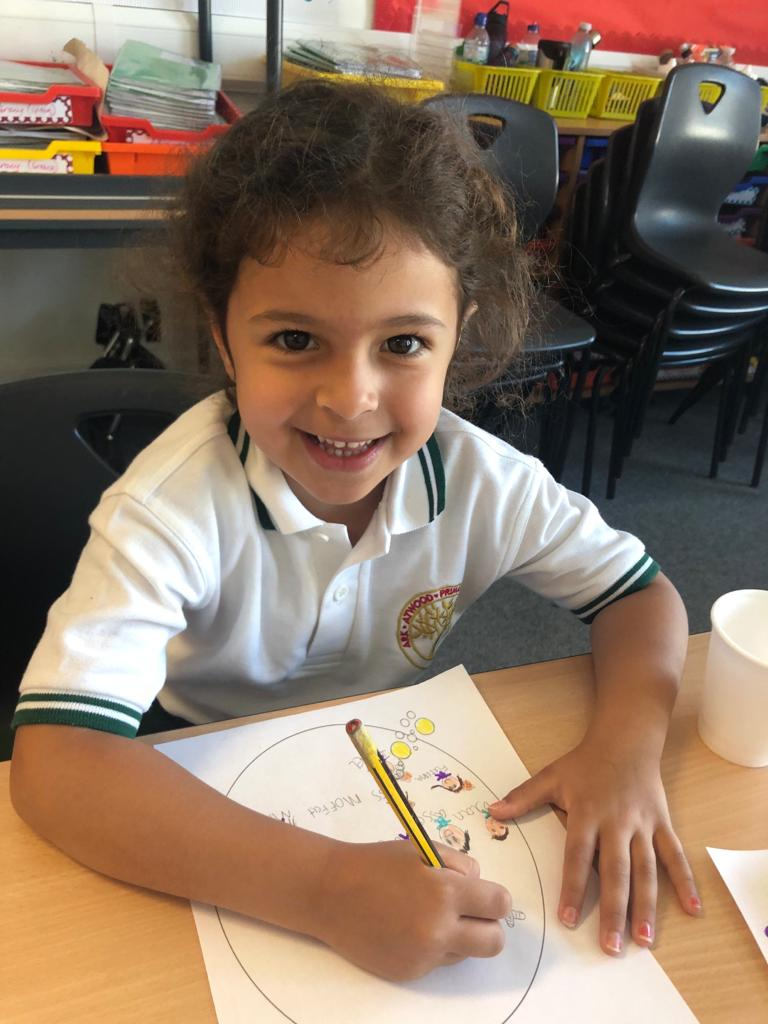 Thank you Isabel for your lovely smile! We are enjoying being back with her Year 1 Bubble. #schoolreopening #year1