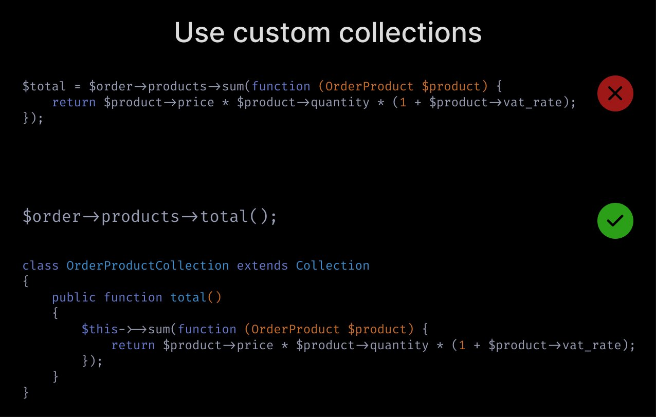 Use custom collections