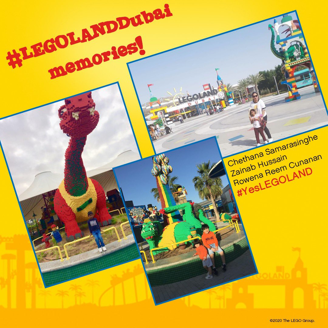Some more AWESOME #LEGOLANDDubai memories from our Facebook fans!  Thank you so much for sharing and we can't wait to welcome you back again!  What's your favorite memory from LEGOLAND Dubai?  Share them and remember to use #YesLEGOLAND so we can share them! https://t.co/1E0rokQwXJ