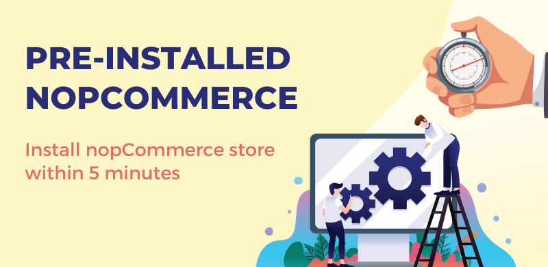 🎉 Meet the pre-installed nopCommerce! The installation  of nopCommerce store has now become more fast and simple than ever 🔥 Learn more: https://t.co/mlFQRbIFlw  #nopcommerce https://t.co/88cyqFGgsB
