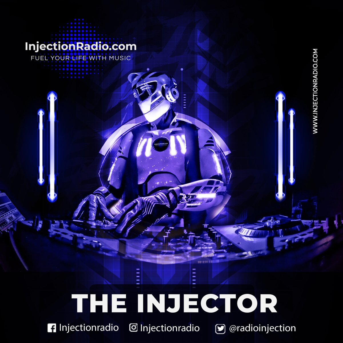 Remember! We currently have no Live DJ's during the day! But THE INJECTOR is here to keep you partying strong! Tune in now at http://www.injectionradio.com #party #partyatwork #partytime #grabthespeaker #liveradio #robotpic.twitter.com/zfL88y0lUW