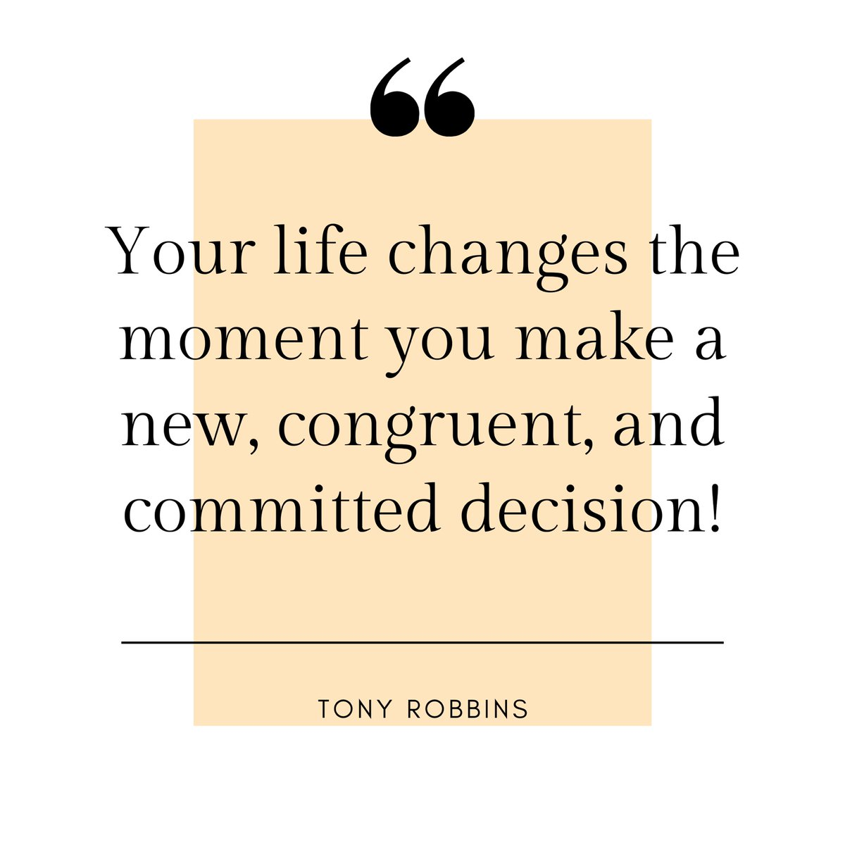 Love the quote from @tonyrobbins... . . . Making big #changes in your life such as a #career change, can be #overwhelming⚡️⚡️⚡️ The biggest solution to overcome this, is firstly to make the decision and then #commit yourself to it #step by step🐾  #commitment #decisionmaking https://t.co/HTWnORP10L