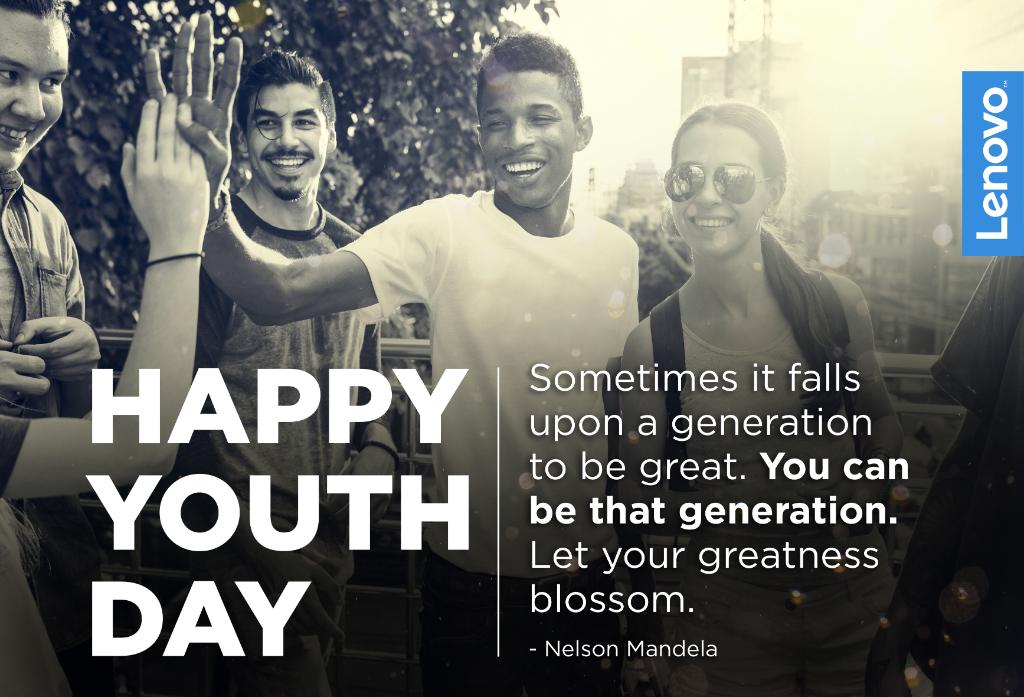 Celebrating the youth of South Africa! Happy #YouthDay! https://t.co/ZuPj6KqQKf