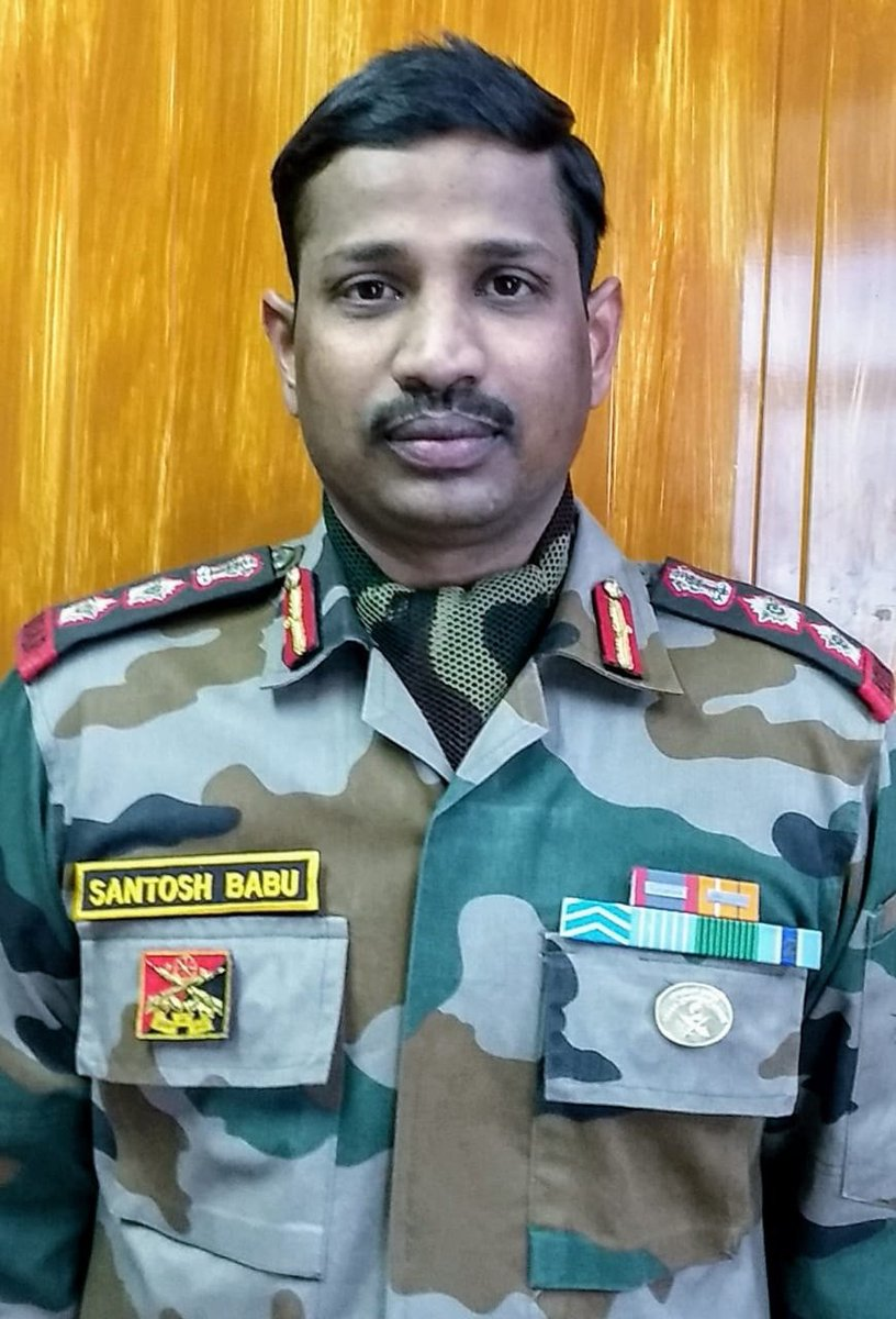 Heartfelt condolences to Col. Santosh Babu who made the Supreme Sacrifice in action at the #GalwanValley . At a time, when the world is dealing with a serious pandemic, this is the last thing we need. I hope Cheeni sudhar jaayein.