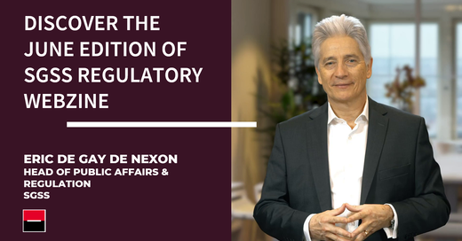 To cope with the pandemic, public authorities took measures to support the economy & adapt rules to the conditions brought about by the lockdown. SGSS' Head of Public Affairs and Regulation,Eric de Nexon, shares his view.#regulatoryaffairs#bce https://t.co/0hWY73Is3g https://t.co/88Yq942CzK