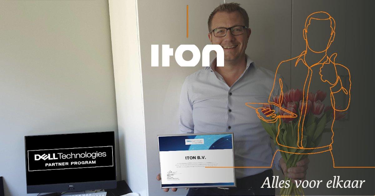 Ook het komende jaar zijn wij weer Dell Platinum Partner!  Bart Sels en Kees van Luijk bedankt voor de samenwerking.  Alles voor elkaar  #dell #iton https://t.co/WBd58oxkNc