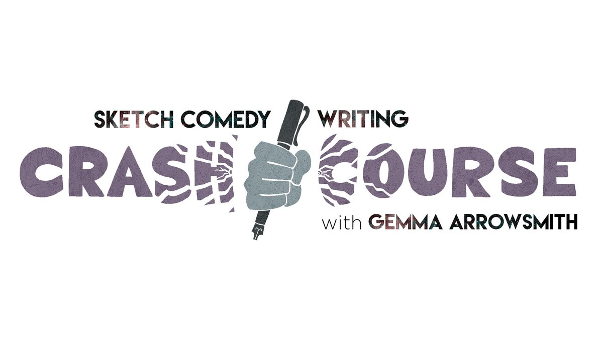 Comedy writer and script editor Gemma Arrowsmith @mmaarrow is running The Crash Course; a short FREE online sketch comedy writing course aimed at improving diversity in writers' rooms. Applications are open until 5pm this Fri, 19 Jun. Find out more & apply https://t.co/WMiFRm9Mvm https://t.co/yLKVIMWpje