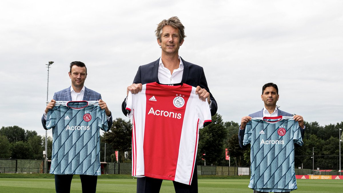Welcome to the future, @Acronis! 🤝  We're very happy with our new Official Cyber Protection Partner and New main partner on our Ajax Youth shirt!   #ForTheFuture https://t.co/VomyOayMAy