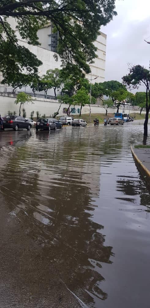 RT @FMCENTER: Av. Libertador - Anegado el paso a la altura de CANTV. 10:20 #TrafficCenter 📸 cortesía https://t.co/hPdPyU37r0