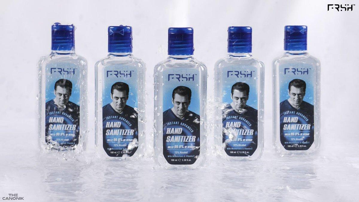 Raho FRSH Raho Safe @FrshGrooming  @BeingSalmanKhan  . . . . P.S. : done with limited resources 😅 #RahoFRSHRahoSafe #FRSH #FRSHGrooming #RahoFRSH #RahoSafe #salmankhan #handsanitizer #madeinIndia #makeinIndia #vocalforlocal #productphotography #canon #thecanonik