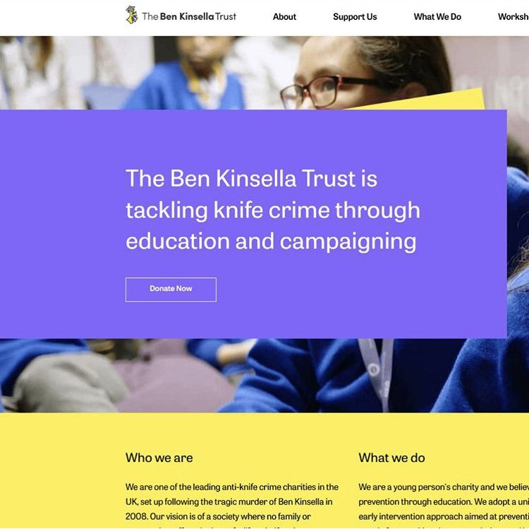 So proud to announce the new @kinsellatrust website is now live! Huge thank you to @makeagencyuk for all their hard work ❤️ Please visit us at https://t.co/7RWmGg0ofC to see what we do! https://t.co/T19IhFU8wh