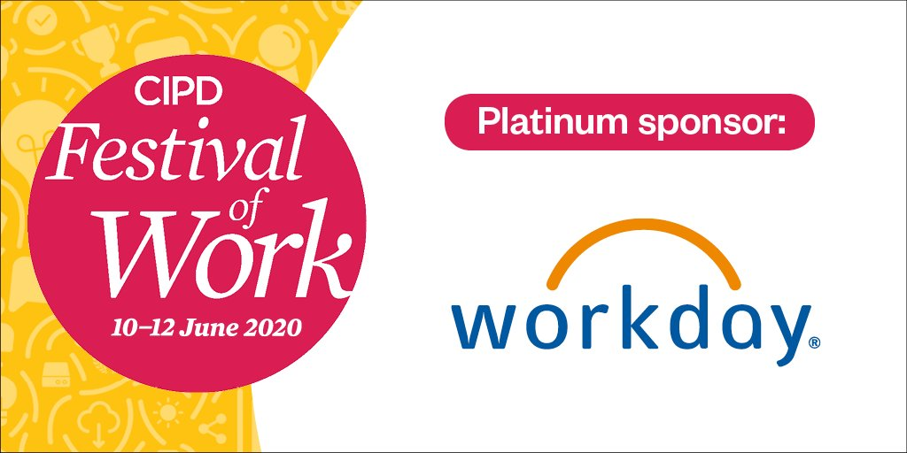A big thank you again to our Platinum Sponsor @Workday🎉You can still sign up for their FREE global report on driving digital growth: bit.ly/2Xk3Bwn #FestivalofWork