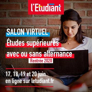 RDV au Salon virtuel des études supérieures de l'Etudiant, du 17 au 20 juin. Mercredi 11h : conférence « Connaissez-vous vraiment les métiers de l'informatique ? » avec Epitech, l'école de l'innovation et de l'expertise informatique. Inscriptions 👉https://t.co/G3JB8agDPz https://t.co/2jBj0nP7CA