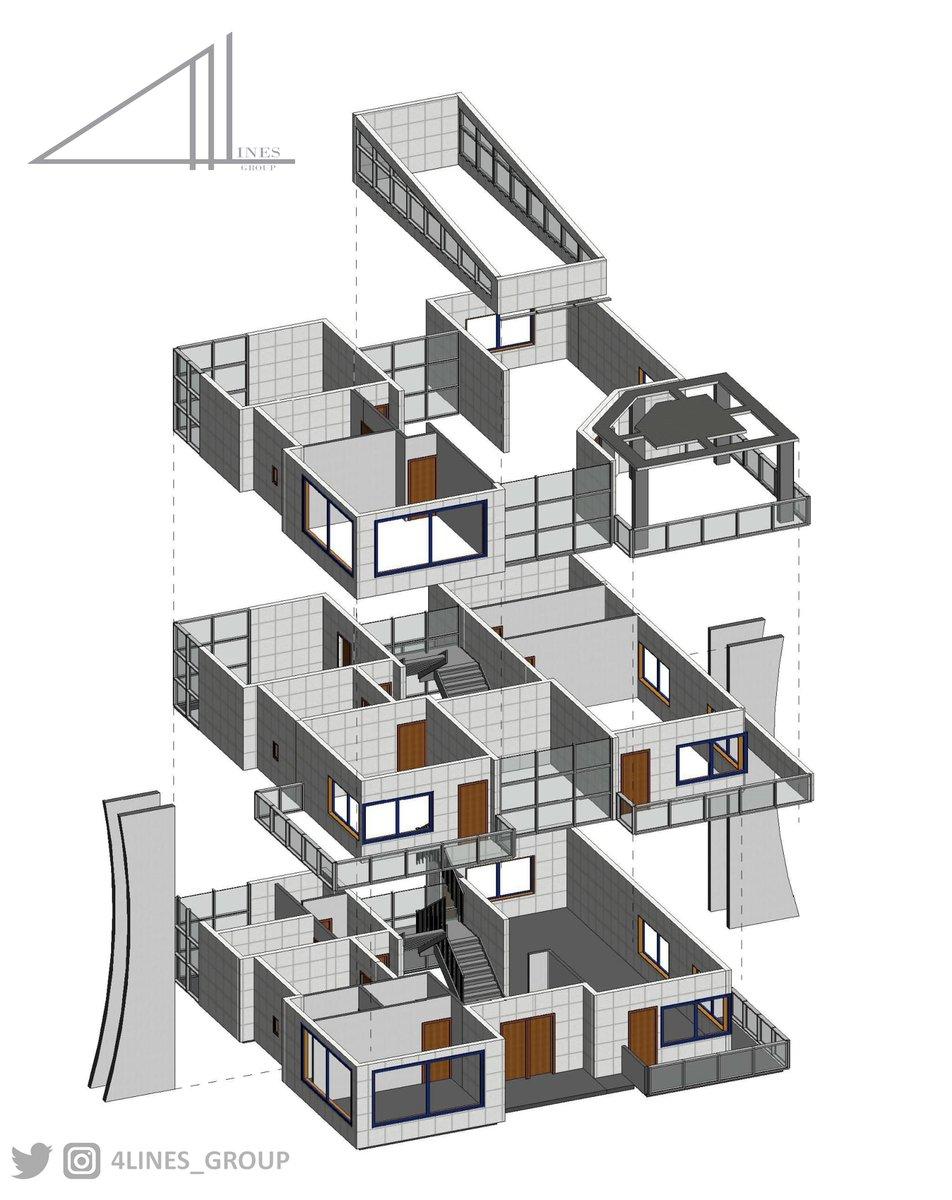 Design By Revit   #design #architecture #revit #تصميم_معماري  #تصميم_داخلي  #تصميم_خارجي  #تصميم  #تصميم_ديكور #ريفيت https://t.co/3nuqYmF2ee