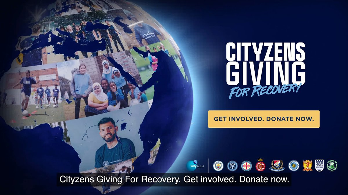 We're bringing together our nine clubs, thousands of staff and millions of fans, to help our communities get back on their feet.  #CityzensGiving: For Recovery  Find out how you can get involved:    💙 #ManCity