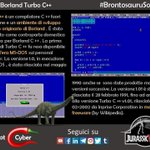 Image for the Tweet beginning: Borland Turbo C++. Ma un